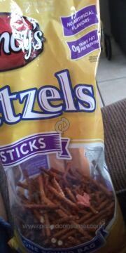 Clancys Chips Pretzel Rods Pretzel