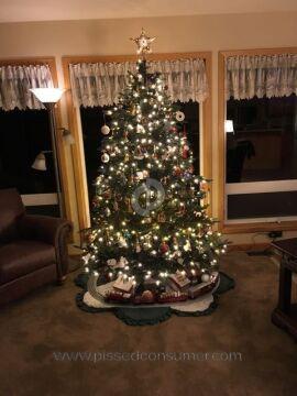 Balsam Hill Aspen Silver Fir Christmas Tree