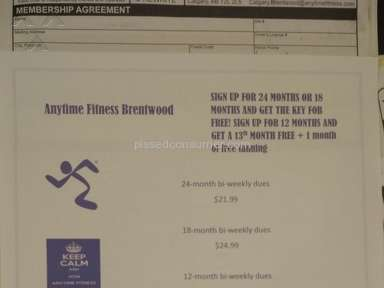 Anytime Fitness Brentwood Calgary, Alberta