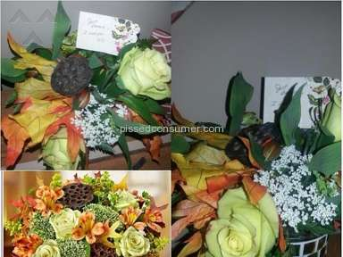 1800flowers Arrangement review 47889