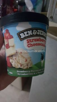 Ben And Jerry Strawberry Cheesecake Ice Cream