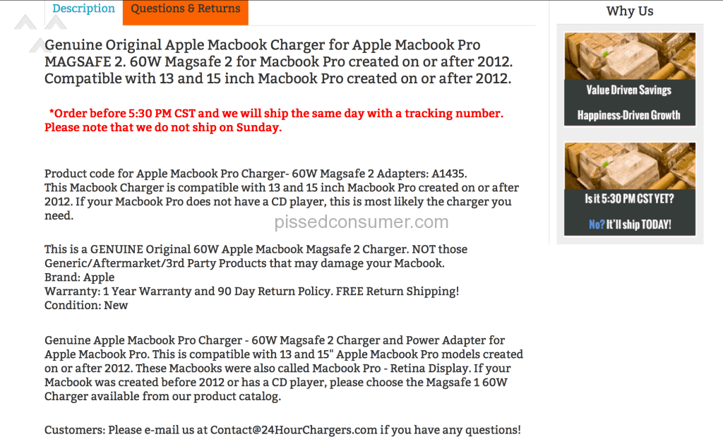 Defrauded By 24hourchargers