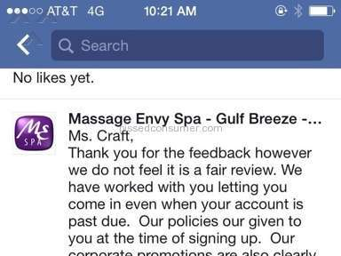 Massage Envy Beauty Salons and Spas review 93187