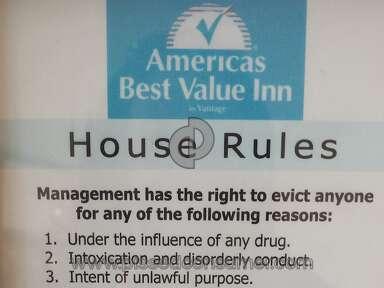 Americas Best Value Inn Room review 142712