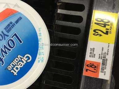 Great Value - Walmart selling expired items