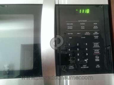 Lg Electronics Lmv1683st Microwave review 242286