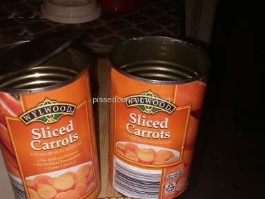 Save A Lot - Wylwood Sliced Carrots Review from Plainville, Indiana