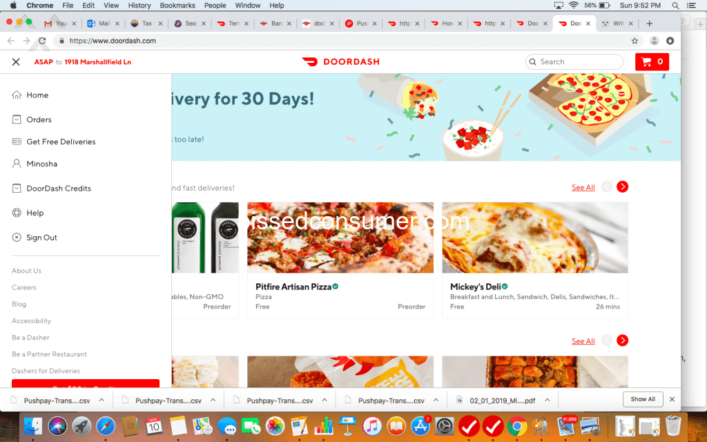 10655 Top Rated DoorDash Reviews and Complaints Page 10 @ Pissed