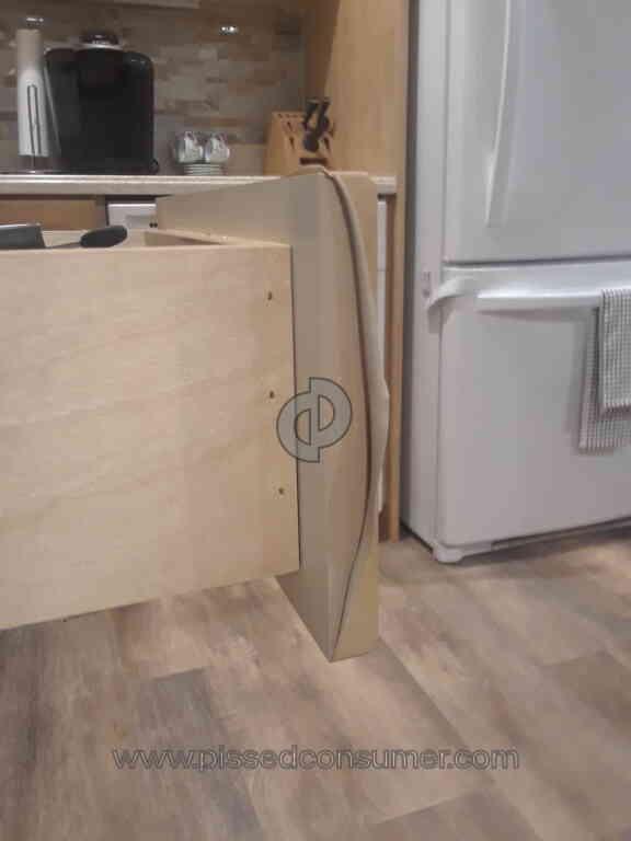 Beau Kitchen Magic Usa   Cheap Peeling Laminate