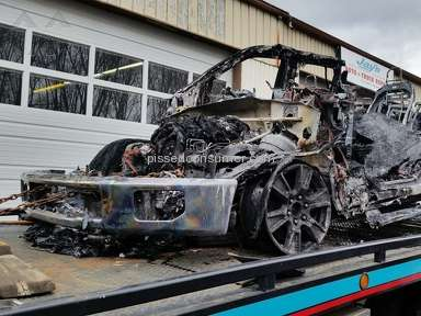 2015 Ford F150 Burned to frame