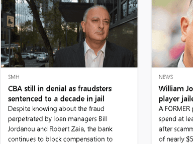 Commonwealth Bank Of Australia - Fraud proved in criminal court, still no compensation