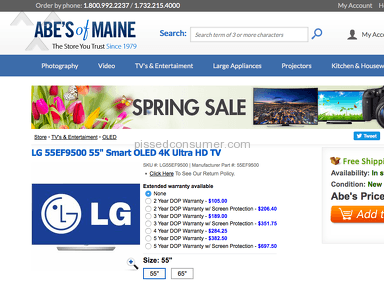 Abes Of Maine Shipping Service review 127581