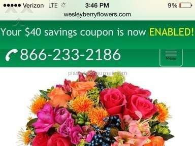 Wesley Berry Flowers Flowers / Florist review 77899