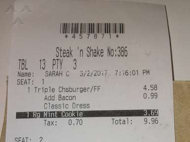 Steak N Shake - Customer Care Review