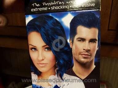 Splat Hair Color Pure Sapphire Hair Dye review 168500
