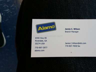 Alamo - Manager Review from Atlanta, Georgia