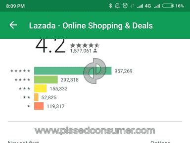 Lazada Philippines - Crap service