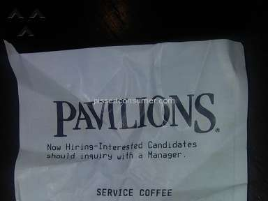 Pavilions Starbucks Customer Care review 167472