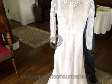 Dhgate Honeywedding Wedding Dress review 130549