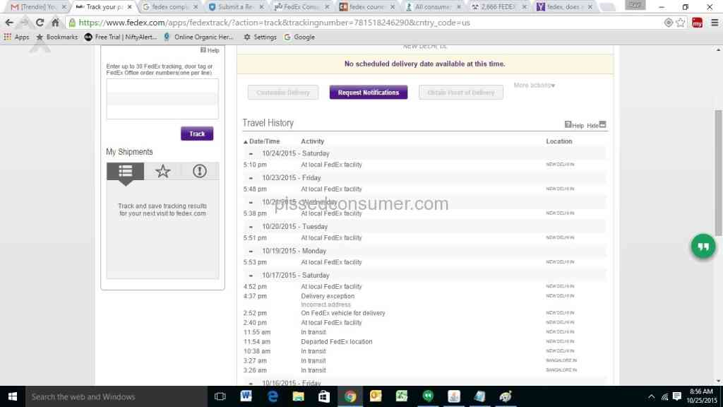 4930 Fedex Reviews and Complaints Page 227 @ Pissed Consumer