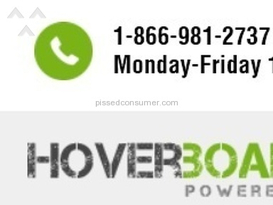 Hoverboarder Customer Care review 174172