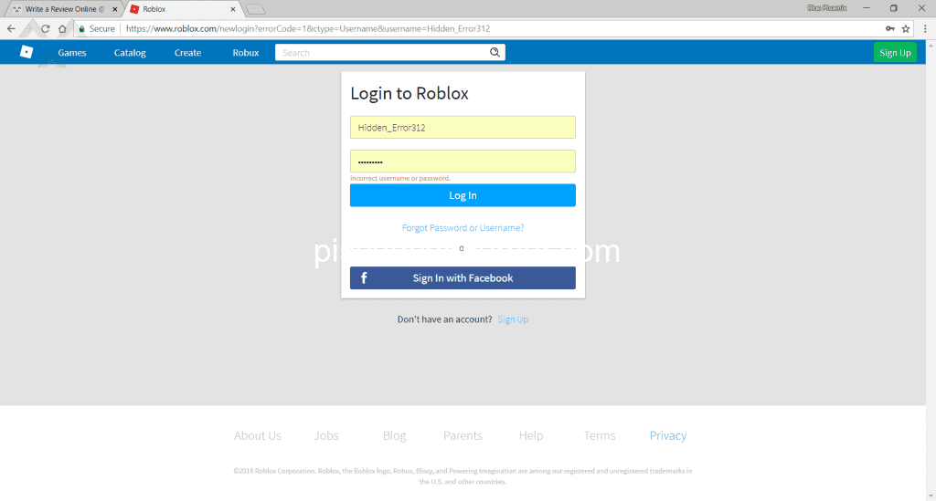 Roblox - I can't login into my account Jul 04, 2018 @ Pissed Consumer
