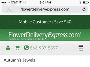 Flower Delivery Express Flowers review 108959