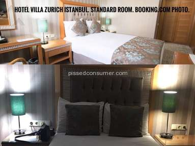 Hotel Villa Zurich Room review 202360