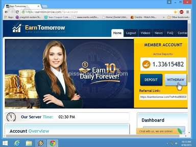 Earn Tomorrow Financial Services review 70389