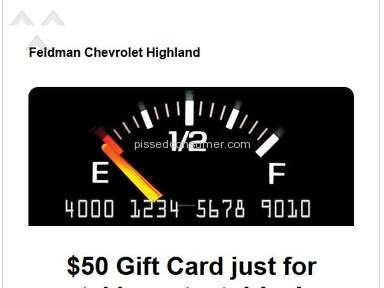 Feldman Chevrolet Of Highland - Chevrolet is cheater