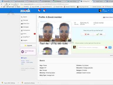 Zoosk Profile review 254776