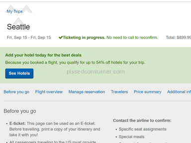 Expedia Flight Booking review 227080