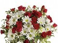 Teleflora Teleflora's Red White And You Arrangement