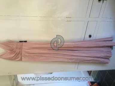 Bloomingdales Faviana Prom Dress review 128915