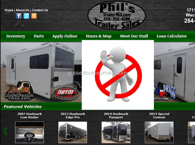 Phils Trailer Sales Equipment review 34207