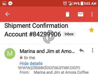 Amora Coffee - Rip offs!!!