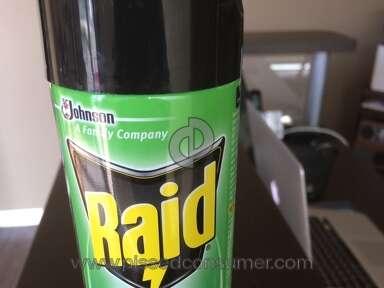 "Johnson And Johnson - Raid ""Earth Blends"" Multi-Bug Spray doesn't kill any bugs"