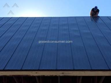 Menards Midwest Manufacturing Steel Roof Panel review 217870