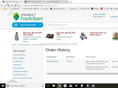 Fingerhut E-commerce review 250410