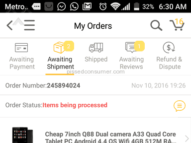 Dhgate Delivery Service review 182938