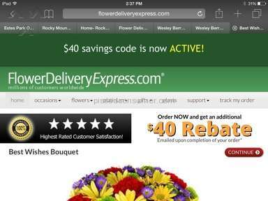 Flower Delivery Express Bouquet review 80365