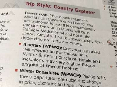 Trafalgar Tours Tour review 71569