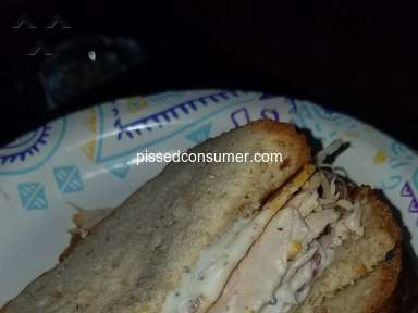Arbys Roast Turkey Ranch And Bacon Sandwich review 315984
