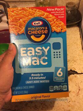 Kraft Foods Macaroni And Cheese Pasta