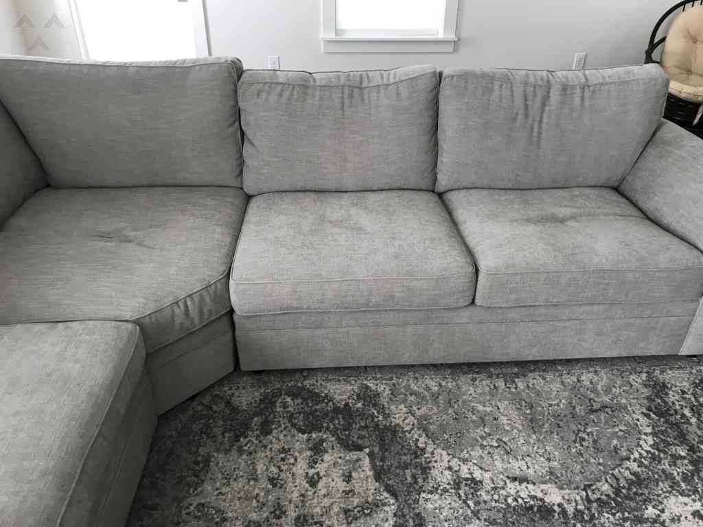 Pottery Barn Pearce Fabric Sofa Review 266970