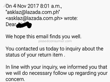Lazada Philippines Shipping Service review 248794