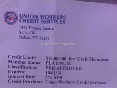 Union Workers Credit Services - Money Refund Review
