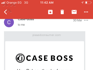 Case Boss - The worst experience Ever