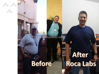 Roca Labs Weight Loss, Diets and Training review 71127