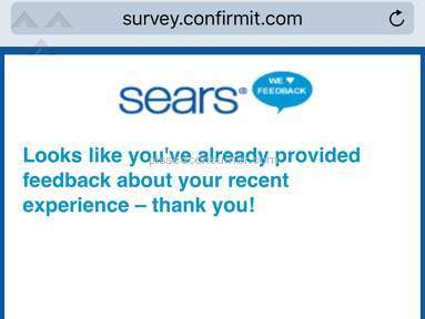 Sears Delivery Service review 174498